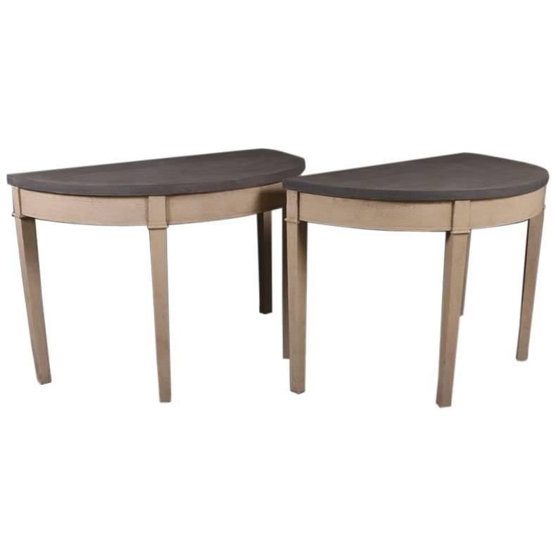 Demilune Console Tables
