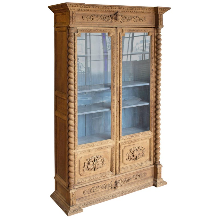 19th Century French Bibliotheque