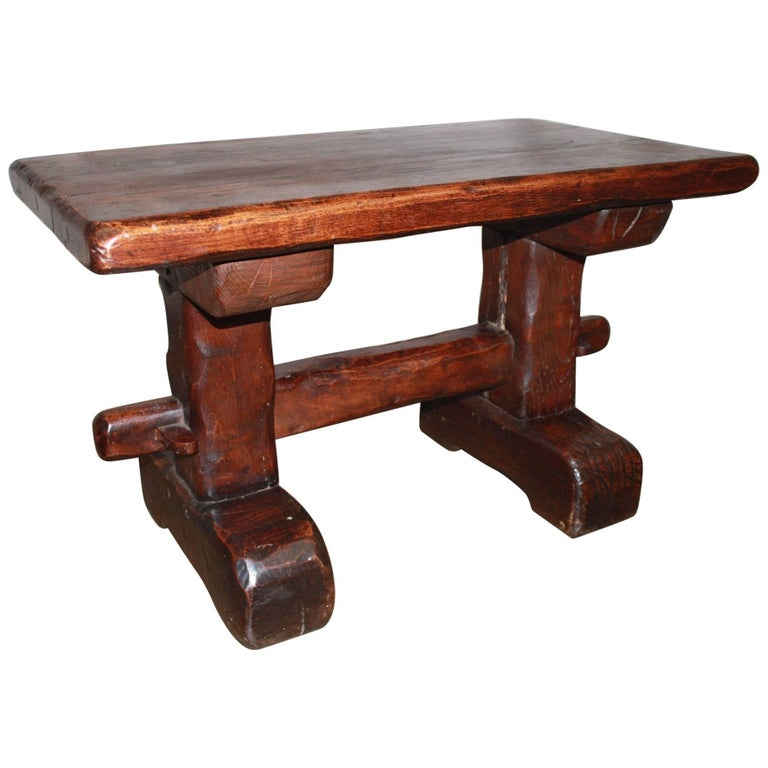 Rustic 19th Century Side Table