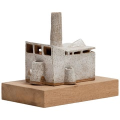 Carlos Otero Ceramic Sculpture, Low House