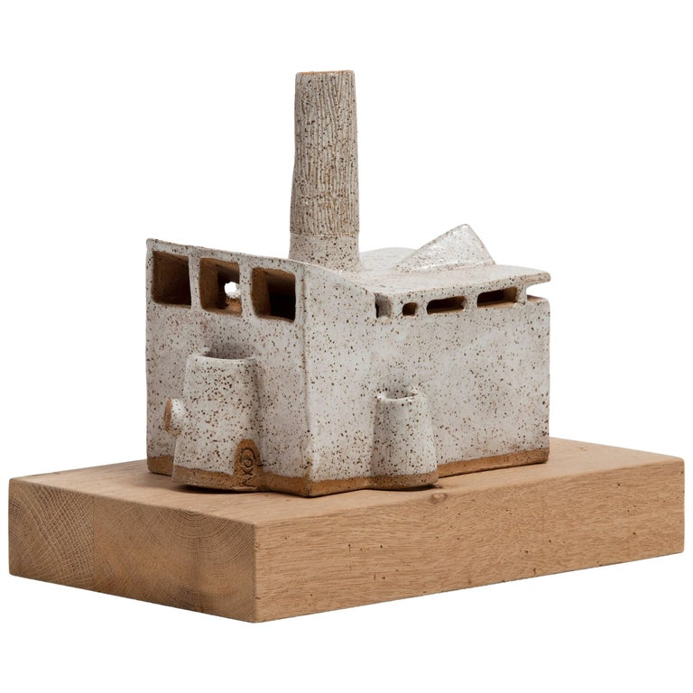 Carlos Otero Ceramic Sculpture, Low House For Sale