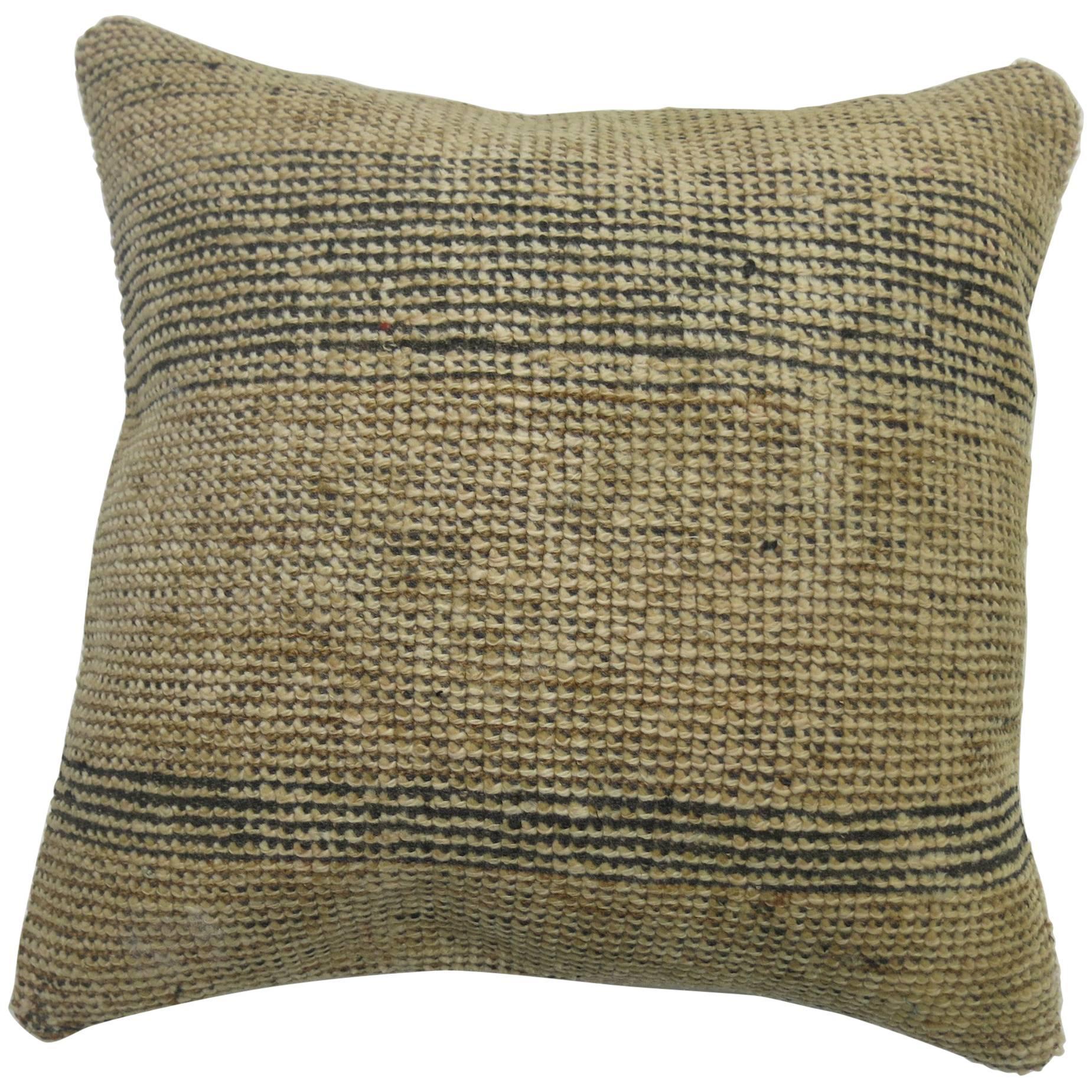 Neutral Moroccan Rug Pillow