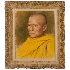 French Portrait of a Tibetan Monk