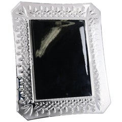 Irish Waterford Cut Lead Crystal Picture Frame
