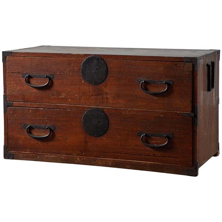 Late 19th Century Japanese Tansu Chest