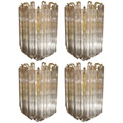 Set of Four Venini Sconces