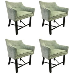 Set of Four Harvey Probber Club Chairs