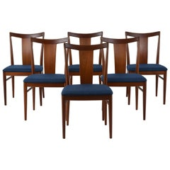 Set of Six Danish Rasmus Solberg Dining Chairs