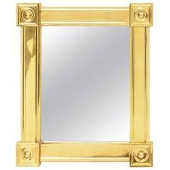 Louis Philipe Style Brass Mirror