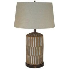 Handmade Studio Ceramic Lamp by Brent Bennett