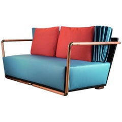 """Blu"" Two-Seat Sofa Designed by Selene Tunesi for Adele-C"