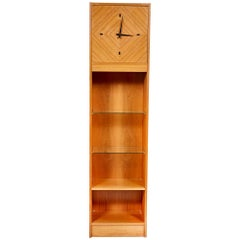 Scandinavian Modern Teak Grandfather Clock