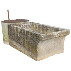 Antique Trough and Well from the Early 18th Century