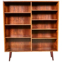 Edmund Jørgensen Danish Rosewood Bookcase, 1960s