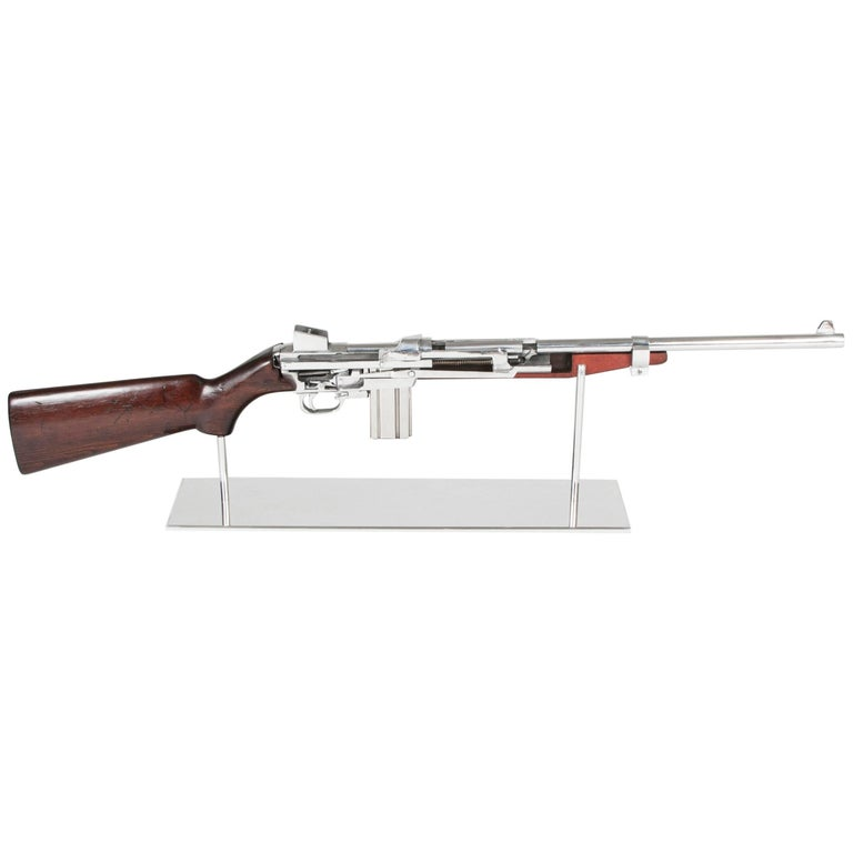 Art M1 Rifle Demonstration Model 1940 in Polished Finish For Sale