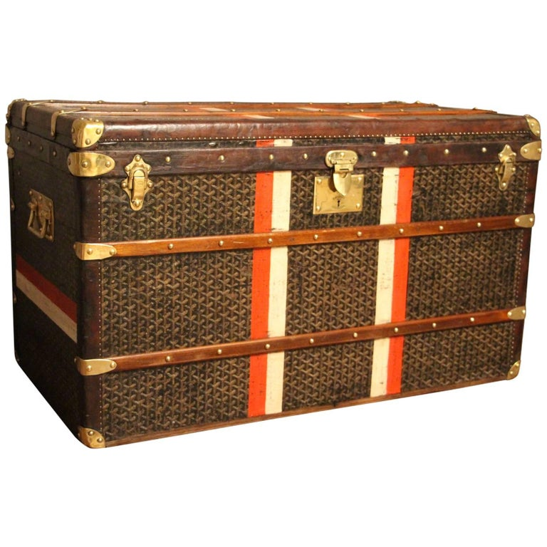 1920s Steamer Trunk From Goyard For