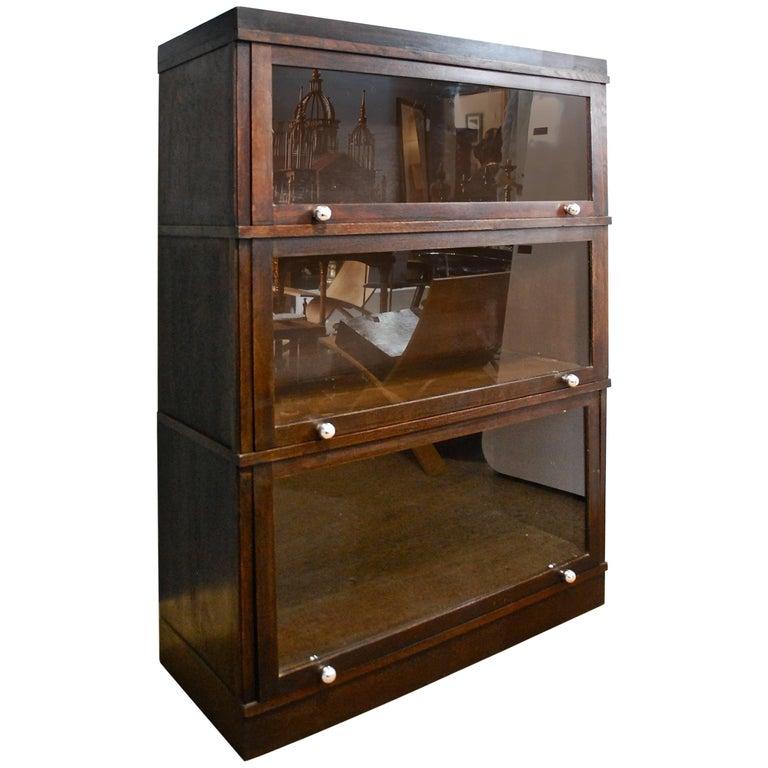 Modular Bookcase By Fredrich Soennecken Circa 1900 For