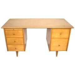 Paul McCobb Double Pedestal Desk for Planner Group Midcentury