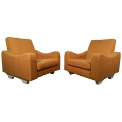 Pair of 1960s Armchairs, in the Style of ARP 'Atelier De Recherche Plastique'