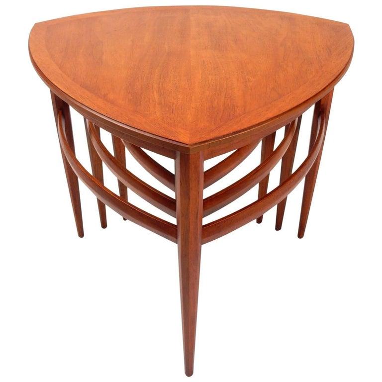 Mid-Century Modern Nesting Table Set, American, circa 1960s