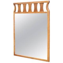 Rectangular Mid-Century Modern Wall Mirror