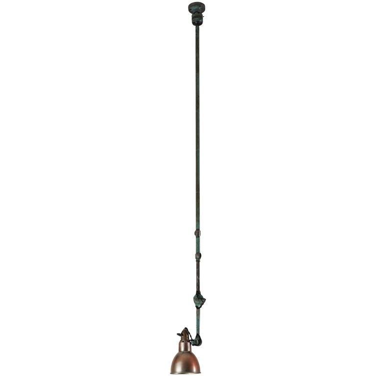 Model No. 302 Adjustable Ceiling Light by Gras Ravel