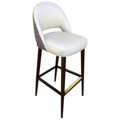 Bar or Counter Stool with Bucket Seat