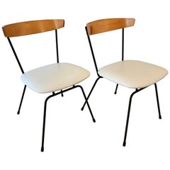 Pair of Clifford Pascoe Dining Chairs in the Style of Paul McCobb, 1950s
