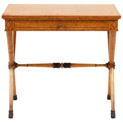 Vintage Small Directoire Style Side Table