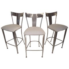 Set of Metal Stools