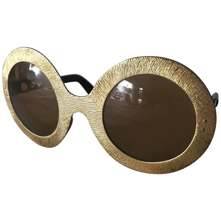 Pair of Vintage French 1970s Sunglasses For Sale