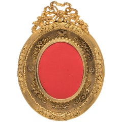Antique French Gilt Bronze Dore Picture Frame