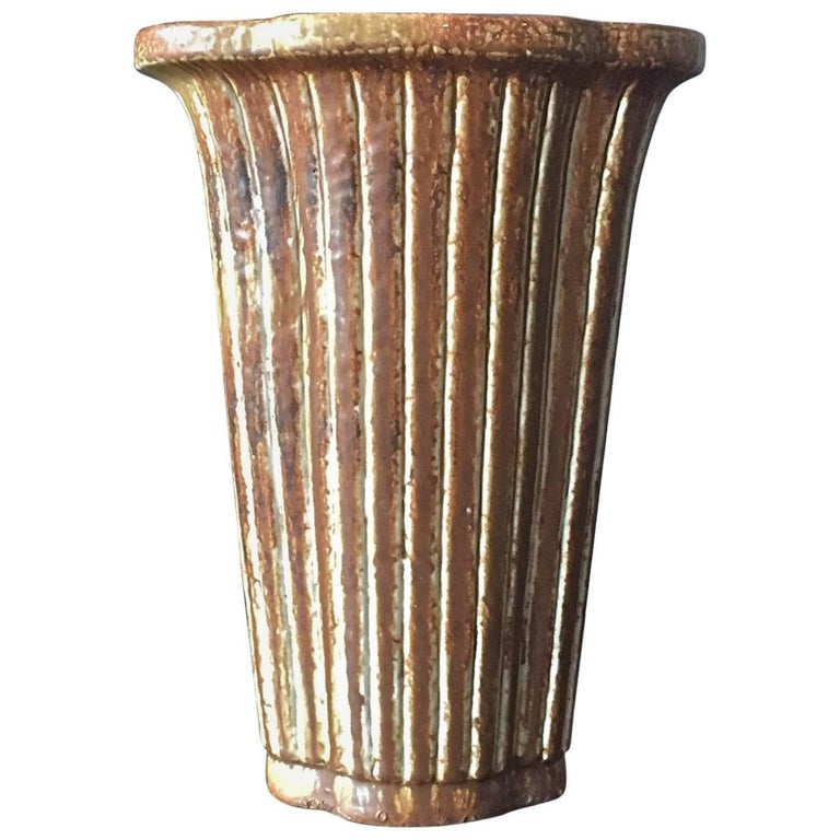 Large Vase by Gunnar Nylund For Sale