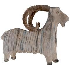 Bitossi Aldo Londi Italy Goat or Ram, circa 1960
