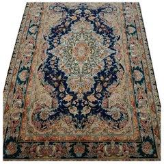 Novinfar Zar-o-nim, Master Novinfar Designed Hand Knotted Persian Tabriz Rug