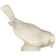 """René Lalique """"Moineau Hardi"""" Paperweight"""