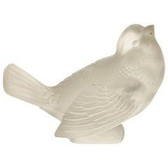 """René Lalique """"Moineau Moqueur"""" Paperweight"""