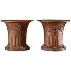 Pair of 18th Century Directoire Urns