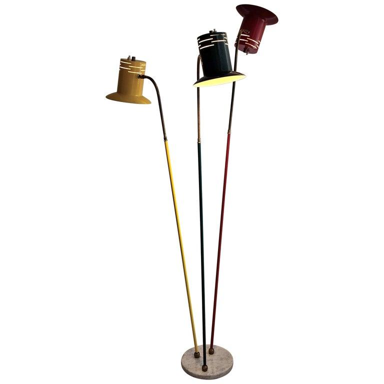 Lumen Midcentury Floor Lamp