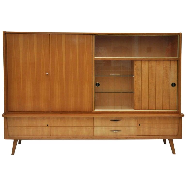Midcentury Mobel Mann Wall Storage Unit or Bar