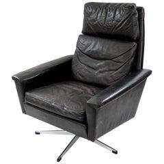 Georg Thams Danish Leather Lounge Chair