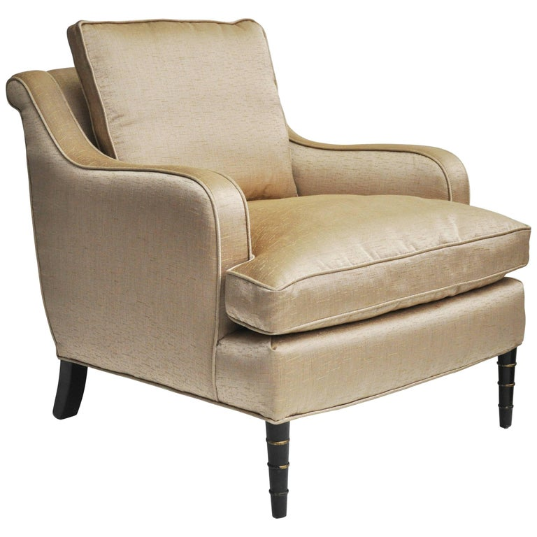 Upholstered Armchair, circa 1920s