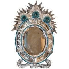 19th Century Vanity Murano Mirror