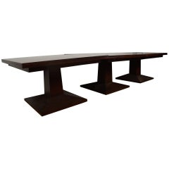 Large Three-Part Dining Table