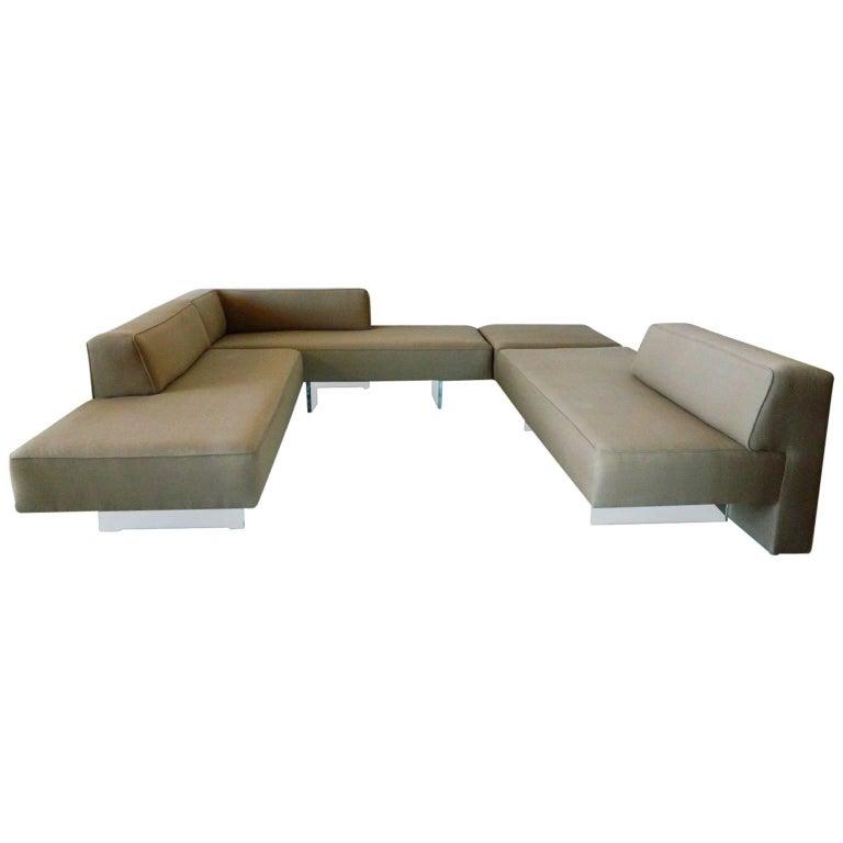 Vladimir Kagan Omnibus Sectional Sofa at 1stdibs