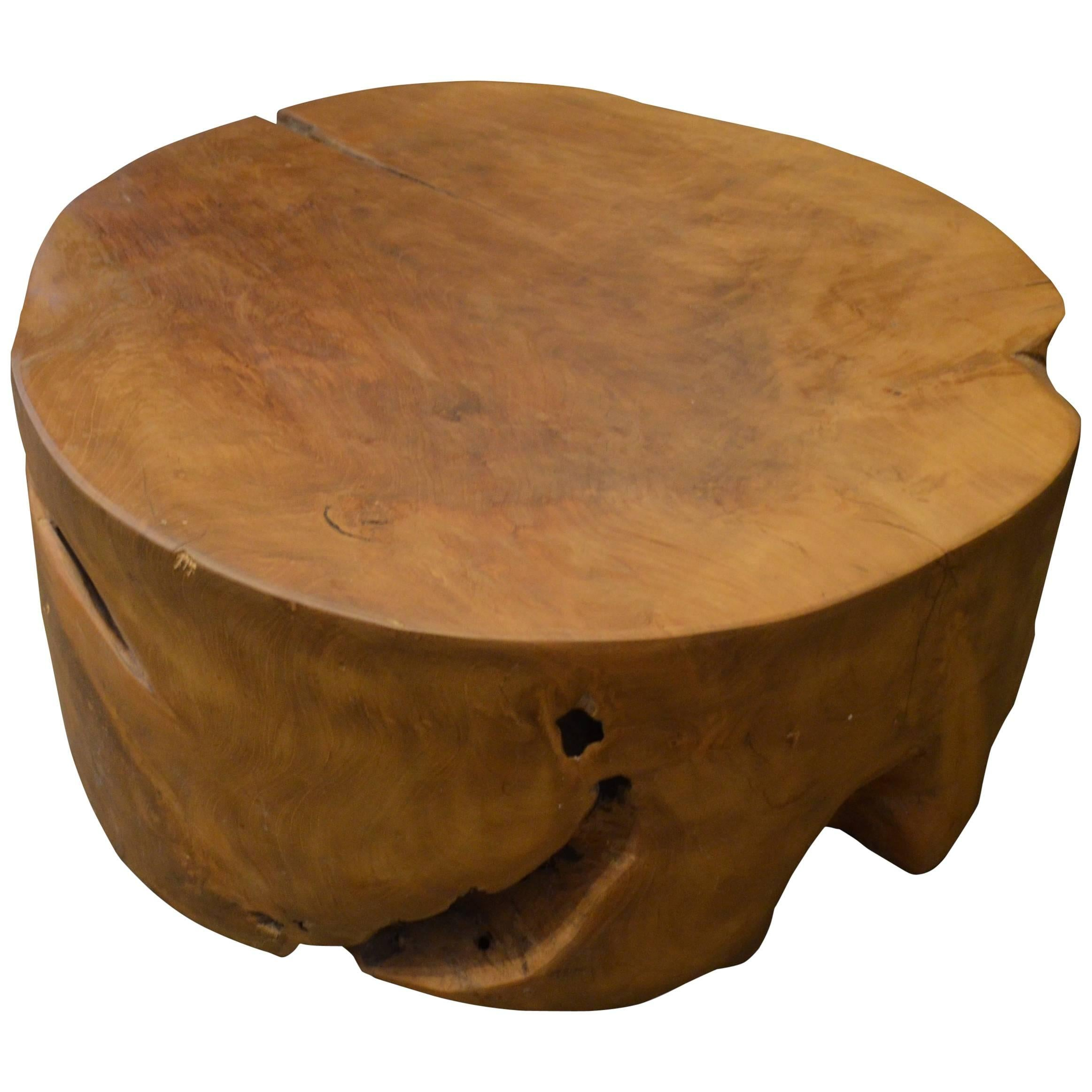 Petrified Wood Side Table Side Table Round Coffee Table Round