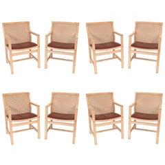 Set of Eight Armchairs Rud Thygesen and Johnny Sørensen for Botium Armchairs