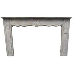 19th Century French Wood Mantel