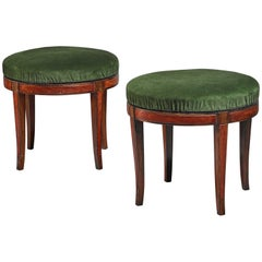 Pair of Boet Stools, Sweden, 1920s-1930s