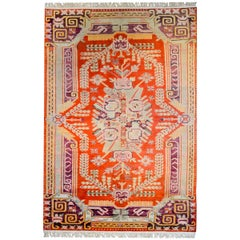 Unusual Early 20th Century Samarghand Rug